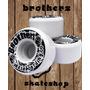 Set Trucks+ruedas+rulemanes Brothers X2 Envio Gratis