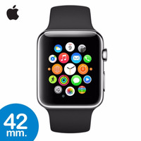 Apple Watch Reloj 42mm Sport Acero Cristal Zafiro Silicona