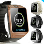 Smart Watch Y Smartphone Táctil Con Cámara Reloj Intel Dz09