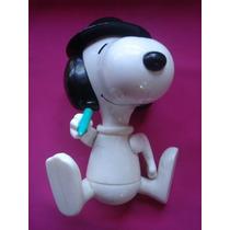 Snoopy Dibujante Coleccion Aniversario Mc Donald 2000 15 Cms