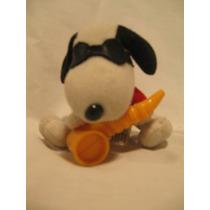 Muñeco Snoopy Saxofonista Coleccion Mc Donald`s