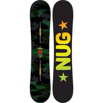 Tabla Snowboard Burton Nug 154 Fv + Fijaciones Mission Est