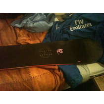 Tabla Snowboard K2 Negra Female Impecable Oportunidad!