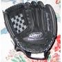 Guante Softball Negro Cuero De Vaca Numero 12 Diestro