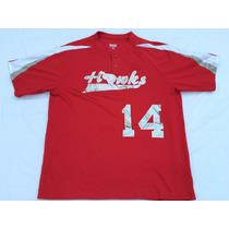 Camiseta Mlb (augusta) Usa,hawks #14 Talle L Nueva.
