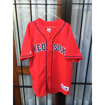Casaca Mlb Majestic Usa,boston Red Sox Talle Xl Nueva