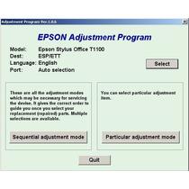 Reset Counter Epson T1110