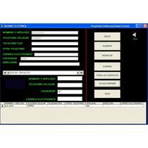 Software Super Agenda Telefonica, Imprime Listas D Contactos