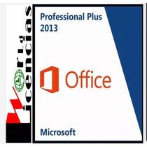 Office Professional Pro Plus 2013 5 Pc Licencia Original