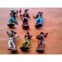Lote X 6 Soldaditos De Plastico Desarmables Antiguos Lote 57