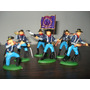 Set X6 Soldados De La Union Guerra Civil Americana