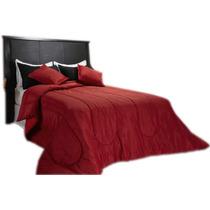 -super Combo-colchon+sommier+respaldo+ropa De Cama+almohadas