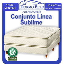 Conjunto Cannon Sublime Doble Pilow 1,80 X 2,00 Mt