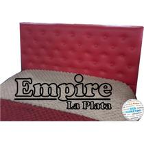 Respaldo Sommier 150cm Semi Capitone ( Empire La Plata)