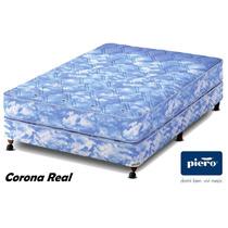Somier Y Colchón Piero Corona Real 2 Plazas - Envío Gratis