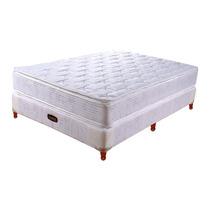 Colchon Somier Taurus Equis Resorte 140x190 C/pillow Top