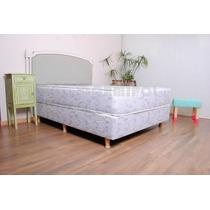 Colchon Y Sommier 2 Plazas 1.90x1.40 Intense Triple Soft
