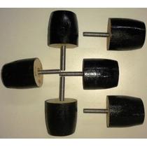 Patas 6 Cm. Adaptables Sillón - Puff - Mueble - X 6 Unidades