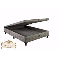 Sommier Springwall Roomy 140x190 Con Baulera Envio Sin Cargo