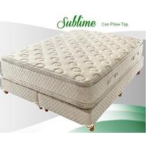 Conjunto Sublime Pillow 180x200 Envio + 2 Almohadas Gratis