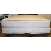 Colchón Y Sommier Palette 180x200 C/pillow Top Impecable