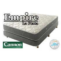 Colchon+sommier Cannon Doral Sin Pilow 140x190cm (empire Lp)