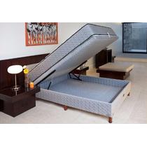 Sommier Springwall Roomy 140x190 Con Baulera El Mejor