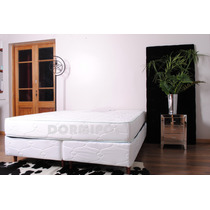 Colchon Y Sommier Queen Size 1.9x1.6 Alta Densidad Pillow