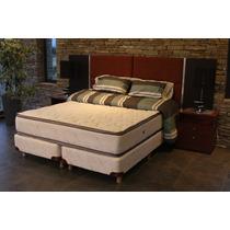 Sommier Y Colchón Coihue Suite Pillow 0.90mts Línea Hotelera