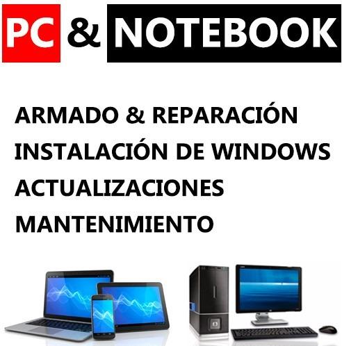 Soporte Tecnico Pc & Notebook - Instalación Windows Pc Power