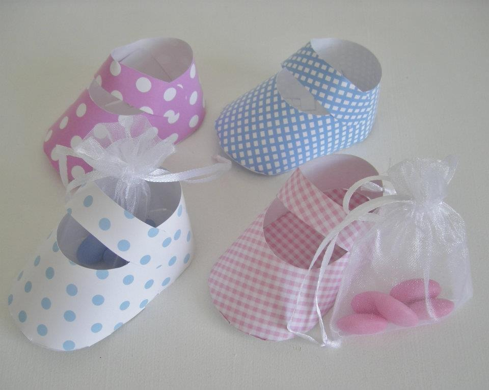Souvenir Zapatitos De Papel! Nacimiento, Baby Shower... - $ 8,50 ...