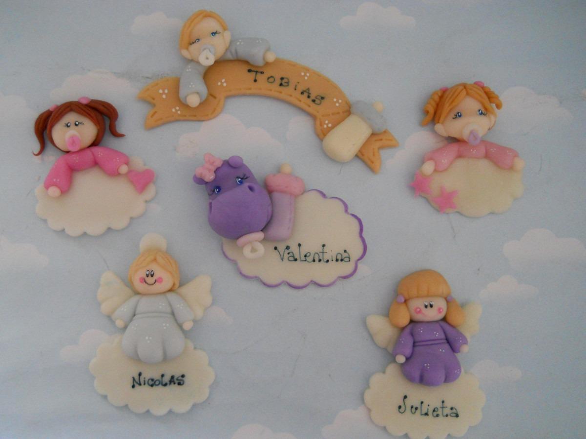 10 Souvenirs Iman, Nacimiento, Bautismo, Porcelana Fria ...