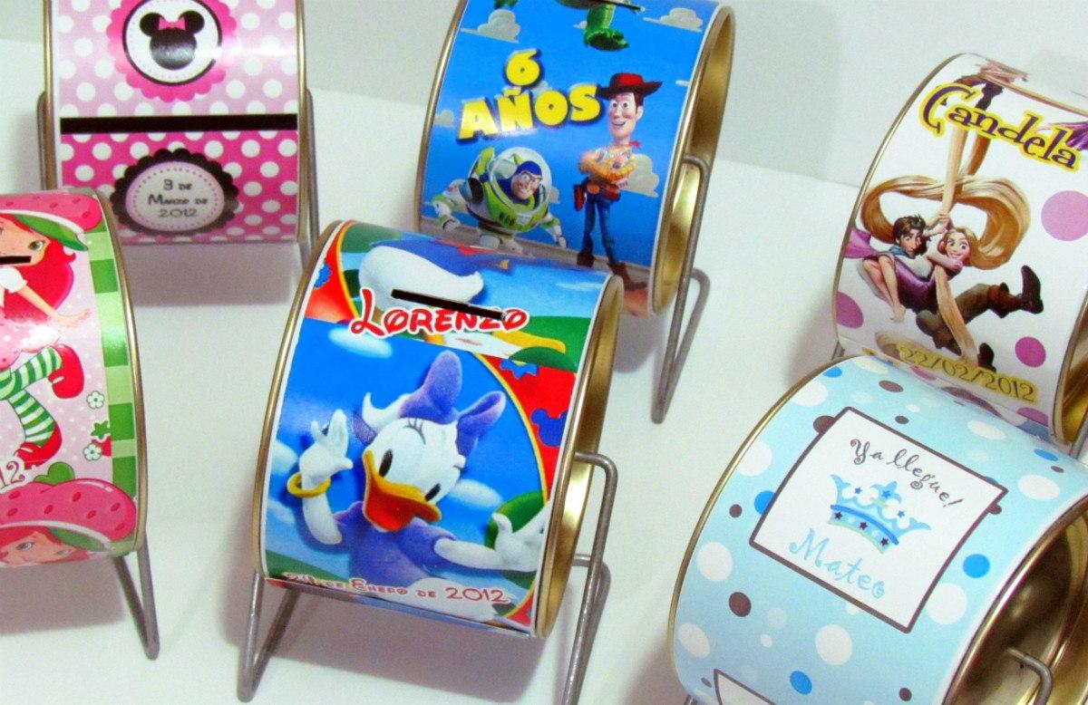 Como hacer alcancias con latas imagui for Cajas personalizadas con fotos