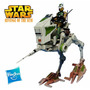 Star Wars Revenge Of The Sith At-rt With At-rt Driver