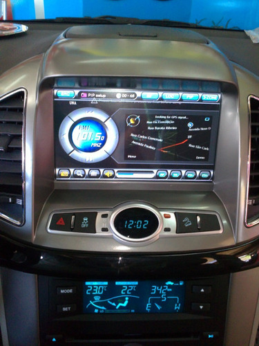 Stereo Dvd Gps Bluetooth Para Chevrolet New Captiva Ipod Tv