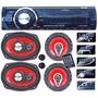 Estereo Luxell Rdx240b Usb Sd Bluetooth+combo 4parlantes+2tw