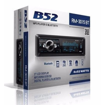 Autostereo B52 Rm3015bt Bluetooth Usb Frente Desmontable