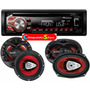Combo Stereo Pioneer Deh 1650 Usb Cd + 4 Parlantes 6x9 & 6,5