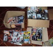 63 Figuras Plomo Dc Comics Aguilar Casi Completa Batman