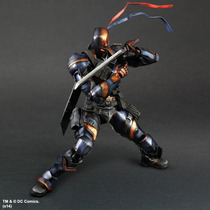 Deathstroke Batman Arkham Origins Play Arts Kai Robin Joker