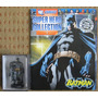 Figura Plomo Dc Aguilar #1 Batman Caja + Comic Marvel Muñeco