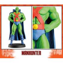 Figura Plomo Dc Aguilar #18 Manhunter Batman Comic Marvel