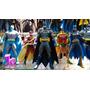 Batman Azul Capa Tela Dc Universe Superheroes Collectibles