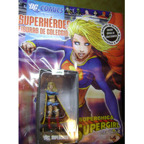 Coleccion Figura De Plomo Super Chica Dc Comics Aguilar