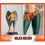Dc Aguilar Figura De Plomo Mujer Halcon