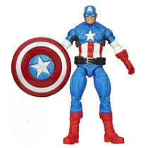 Muñeco Marvel Universe Vengadores Unidos Capitan America