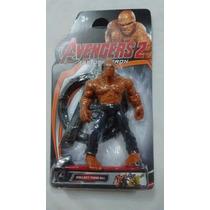 Muñeco La Mole Vengadores Capitan America Avengers 2 Con Luz