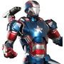 Traje Iron Patriot + Arma (para Armar En Papercraft)