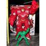 Iron Man Hulkbuster 34 Cm Pvc Irrompible¡¡¡ Envio Cap S/c