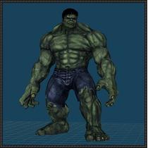 Hulk Papercraft 2 Metros Aproximadamente
